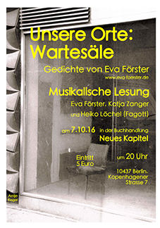 Unsere Orte: Wartesäle Download Flyer